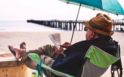 5 fesselnde Bücher für Camping im Regen
